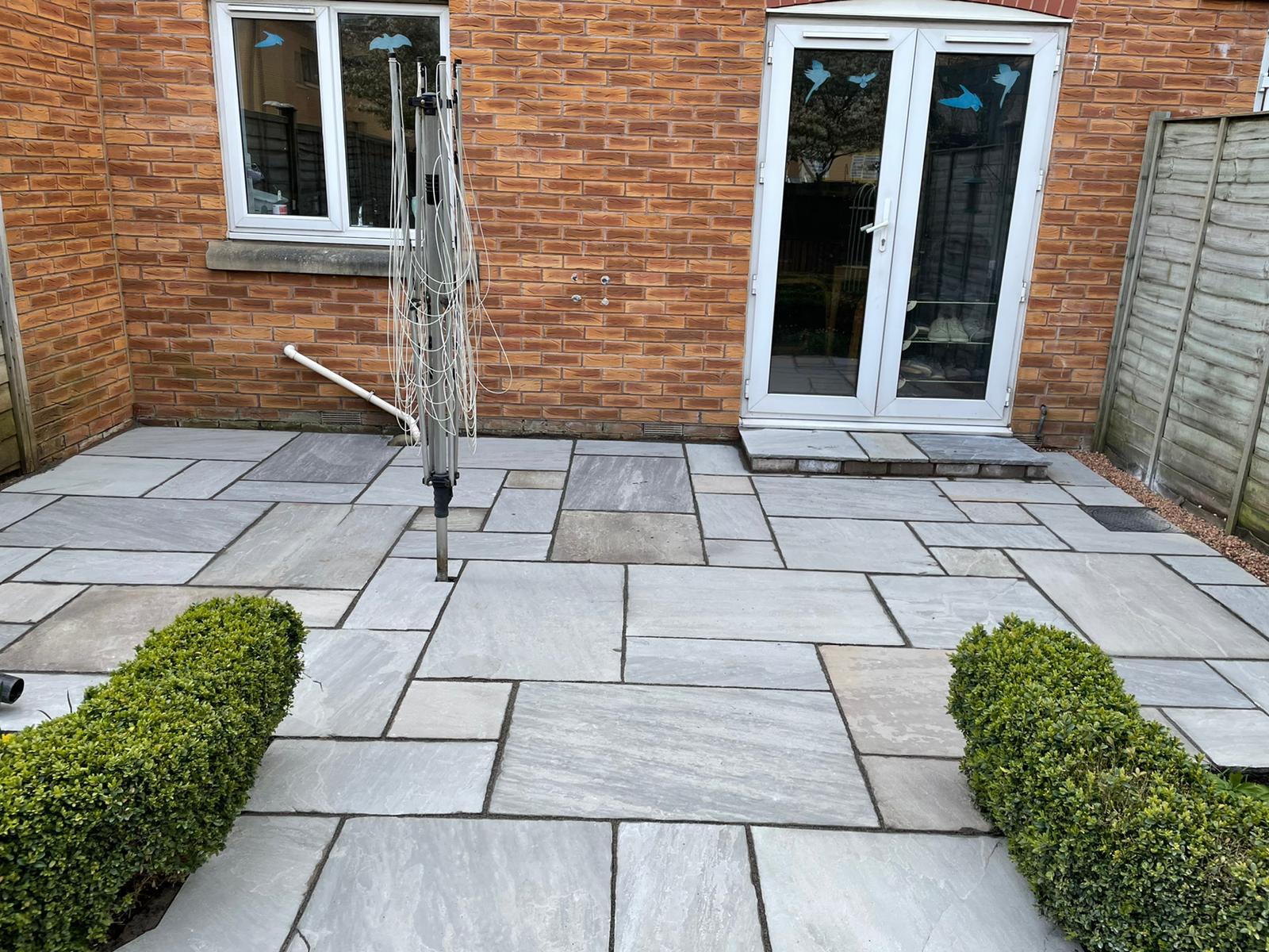 patio slab laying Penarth