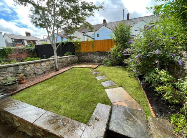 New patio slabs in cardiff